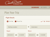 Charter Flight Dashboard