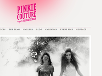 Pinkie Couture Homepage