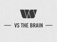 VS THE BRAIN video intro texture