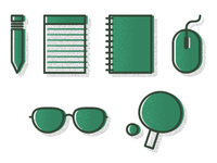 Work & Play Icons