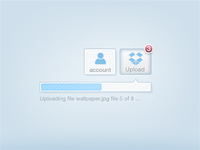 Dropbox HTML5 Upload concept
