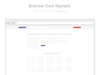 Browser freebie from keyners