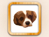Cute Puppies - App Icon