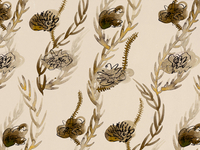 Botanical Pattern detail