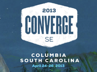 ConvergeSE 2013 Logo Treatment