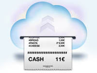 Cloud Receipt  - Logo