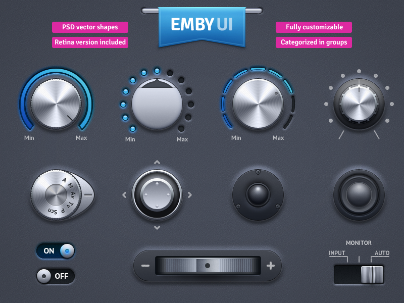 EMBY UI