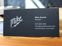 Upstatement Business Cards (Mike)