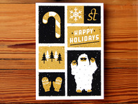 Upstatement Holiday Card Print