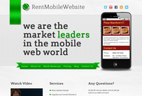 RentmobileWebsite Design