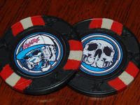Promo Poker Chip - Tiger