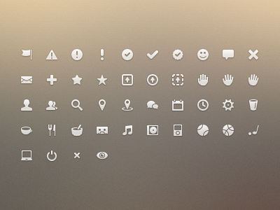 Dribbble-icons-continued