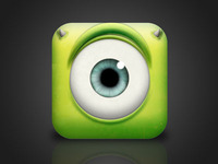 Monster, Inc. iOS Icon