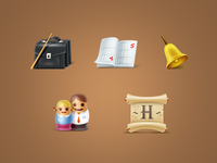 Icons from various projects