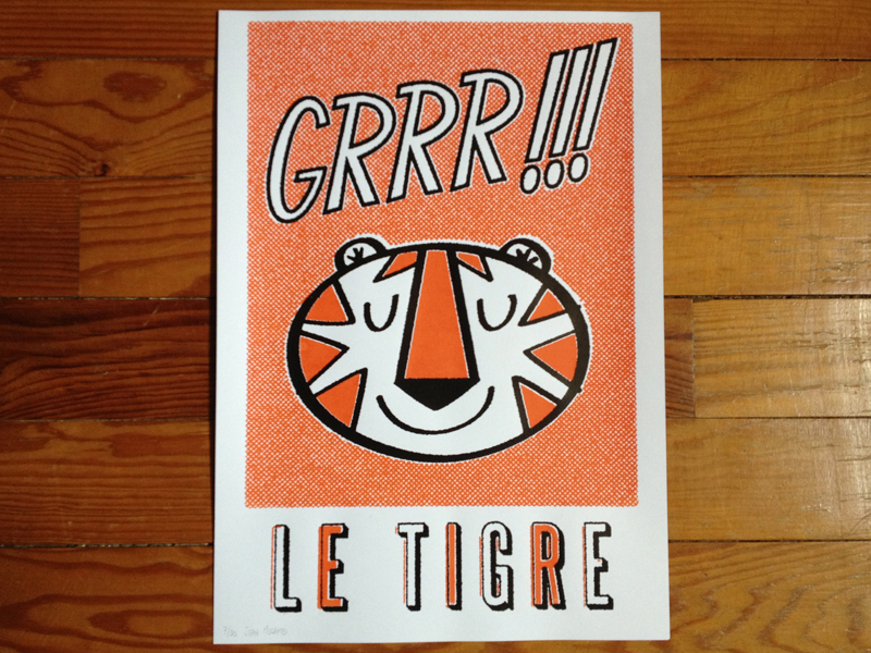 Grrr-silkscreenprint
