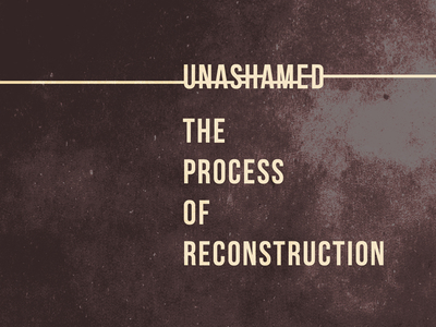 'Unashamed' Rejected Book Cover