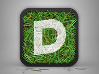 Painted Grass iOS Icon