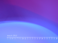 March 2012 Desktop Calendar