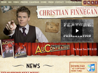 Christian Finnegan Web Site