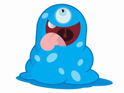 Brand Blue Blob