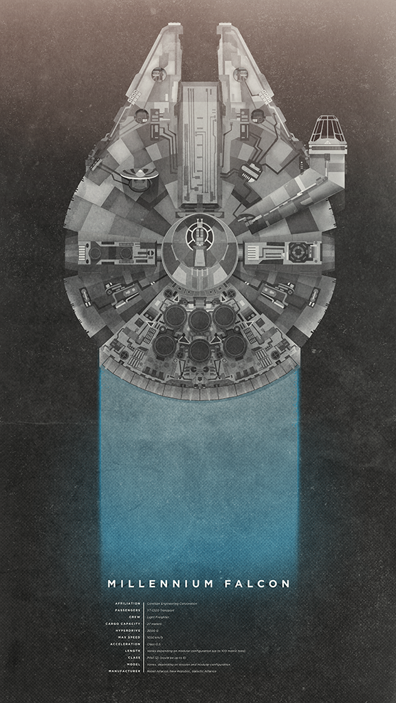Millennium Falcon av Christopher Paul