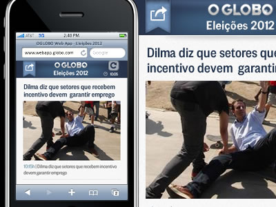 OGLOBO WebApp - mobile version // (work in progress)