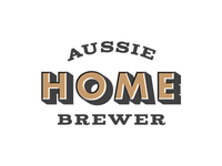 Aussie Home Brewer: Logo Design Offset