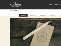 ALDRTREE: Website Preview