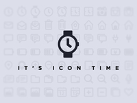 It's icon time!