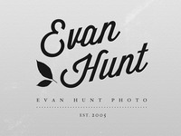 Evan Hunt (Black and White Version)