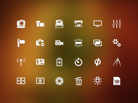Part Of Digicam Icon Set  2