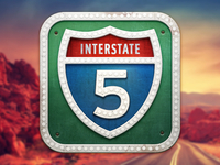 iOS Road Trip Planner icon @2x