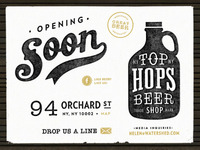 Top Hops - Coming Soon