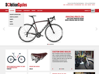 Solstice Cycles Homepage - large screen