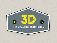 3D Electrics & Home Improvements Logo