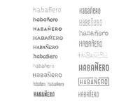 Habanero - Logo Sketches 1