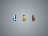 Sales Prospects Temperature Icons