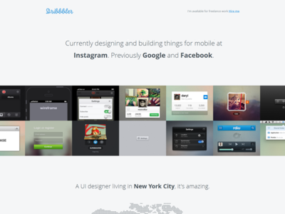 Download Dribbbler – Free portfolio theme