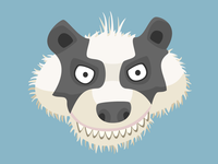 The Badger (vector illustration)