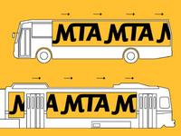 Bus / Light Rail MTA Branding
