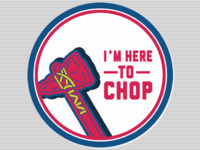 Braves Sticker