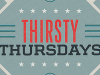 Thirsty Thursday Ad