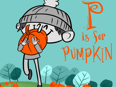Photoshop / P is for Pumpkin
