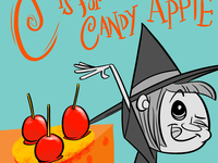 C is for Candy Apple