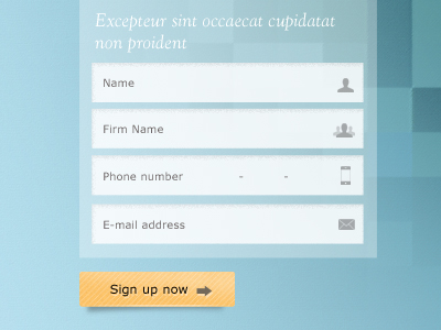 Sign-up-form