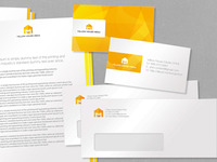 Yellow House Media corporate identity