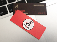 "New ""tie a tie"" business cards"