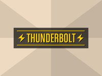 Thunderbolt (horizontal)