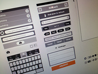 Vector Wireframes Elements