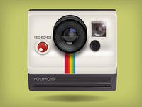 Polaroid Vector App Icon
